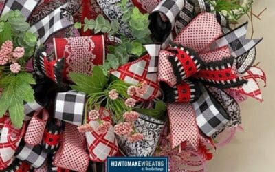 How To Make 3 Valentine's Day Wreath Bows