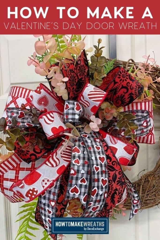 How to Make a Valentine's Day Door Wreath