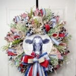 How to Make an Everyday Cow Wreath
