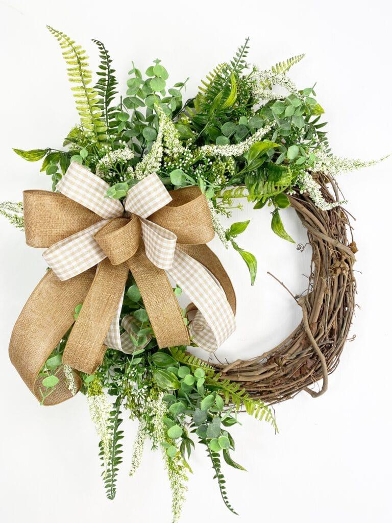 Simple Everyday Grapevine Wreath
