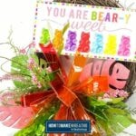 Colorful Beary Sweet Grapevine Wreath