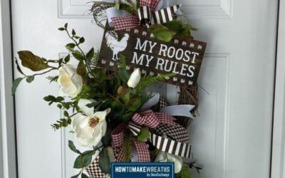 Grapevine Farmhouse Wreath DIY Project