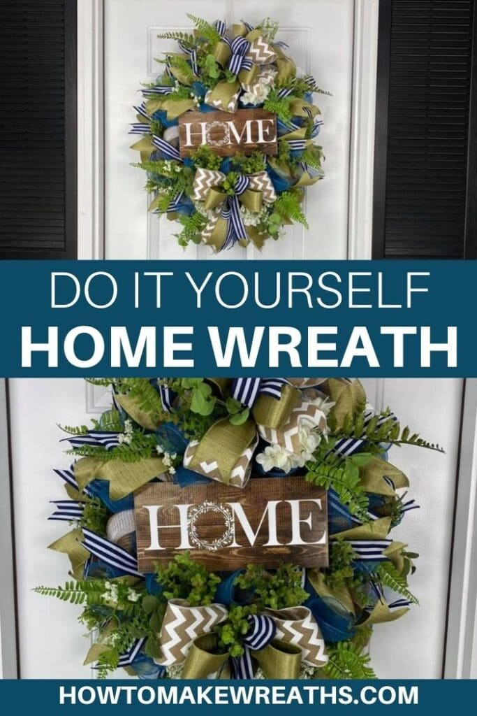 Do It Yourself Home Wreath