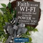 Faith is like wi-fi it's invisible but it has the power to connect you to what you need