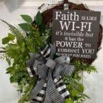 How to Make a Faith Grapevine Wreath