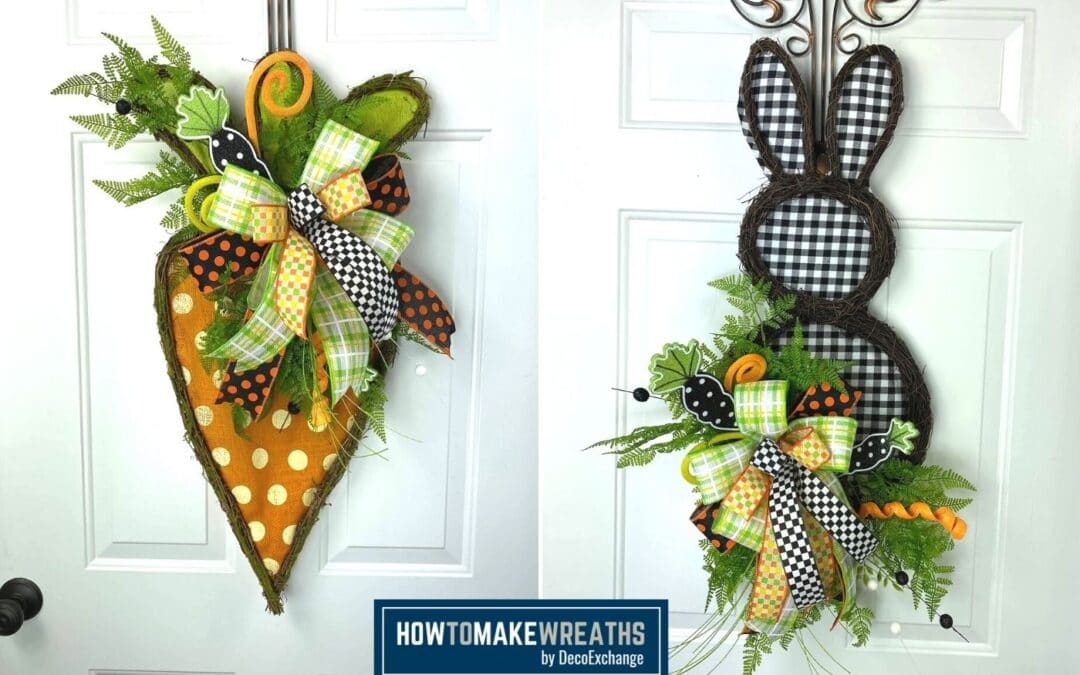 Quick and Easy Spring Door Decor Hangers