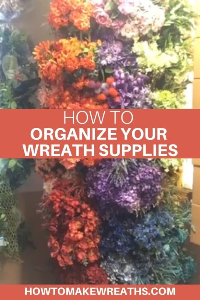 Tips on How You Can Organize Your Wreath Supplies