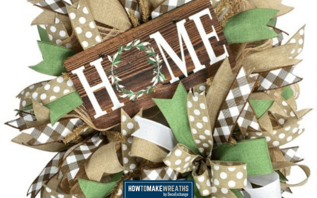 Basic Deco Mesh Wreath Kit