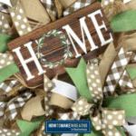 Basic Deco Mesh Wreath Kit Tutorial
