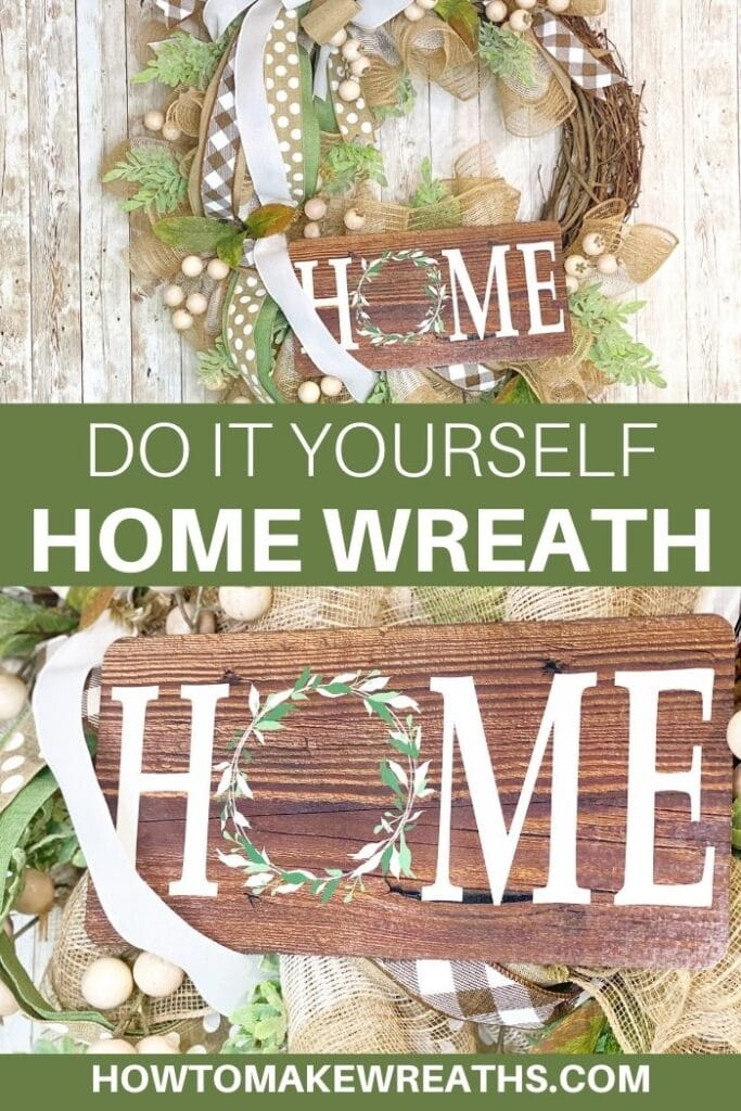 DIY Home Wreath