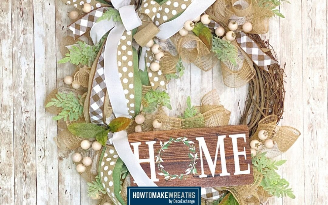 Home Wreath Kit with Coach Fancy