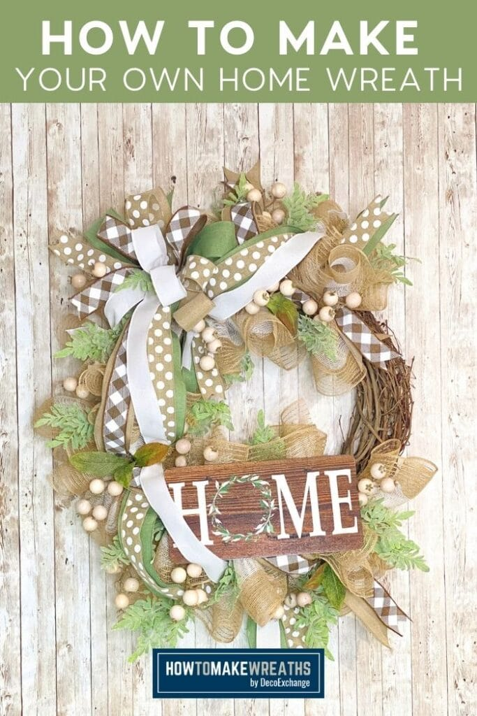 How to Make Your Own Home Wreath