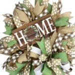 How to Make a Basic Deco Mesh Wreath