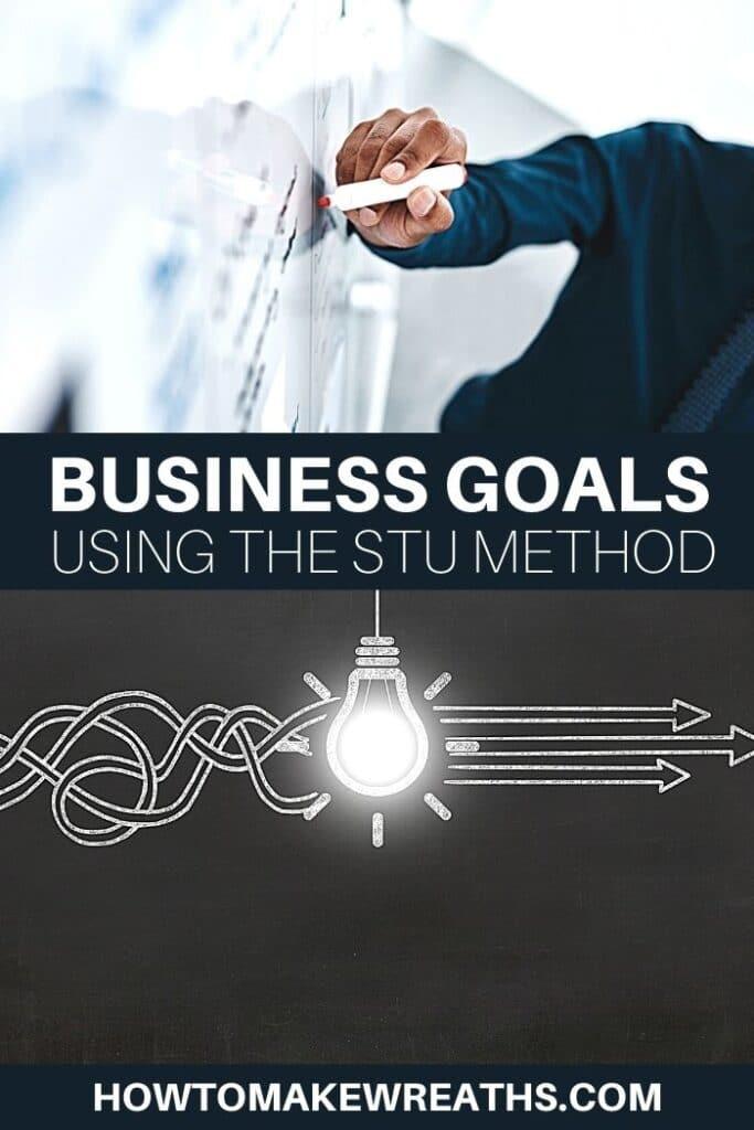 Business Goals Using the STU Method