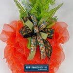 Carrot Wreath using the UITC Board