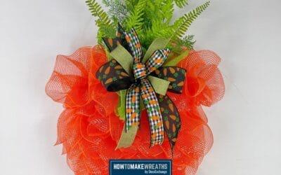 Carrot Wreath using UITC Board