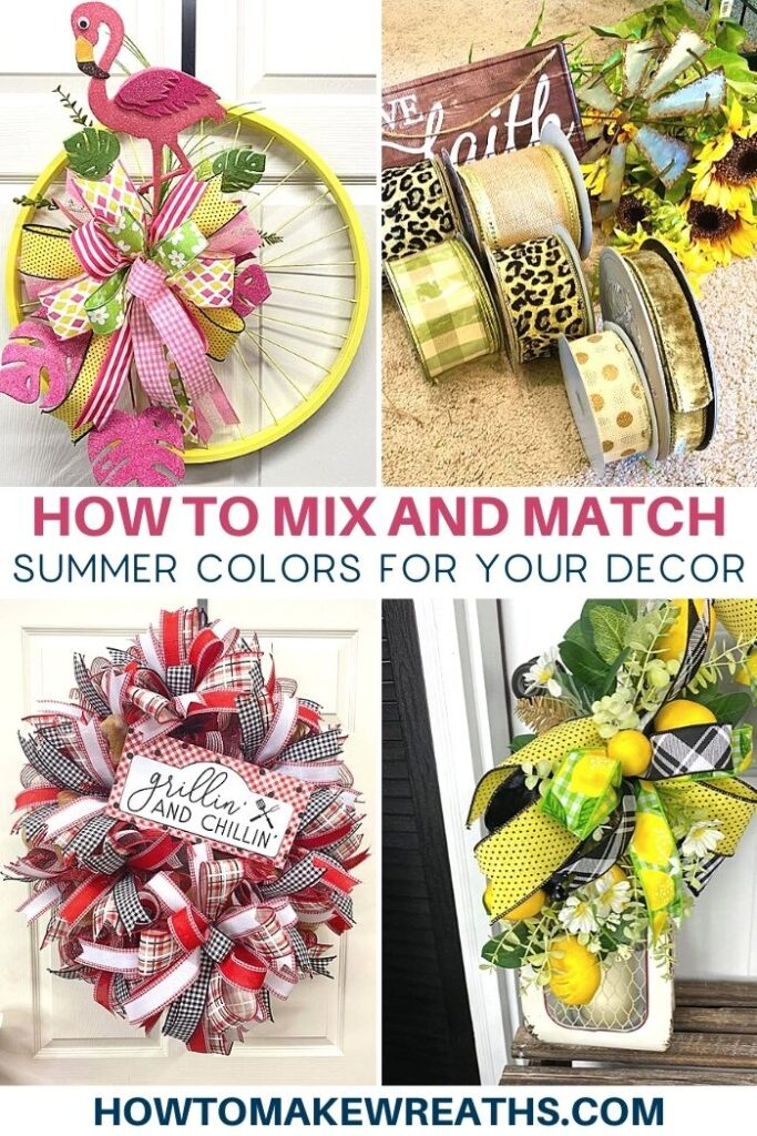 How to Mix and Match Summer Colors for Your Decor