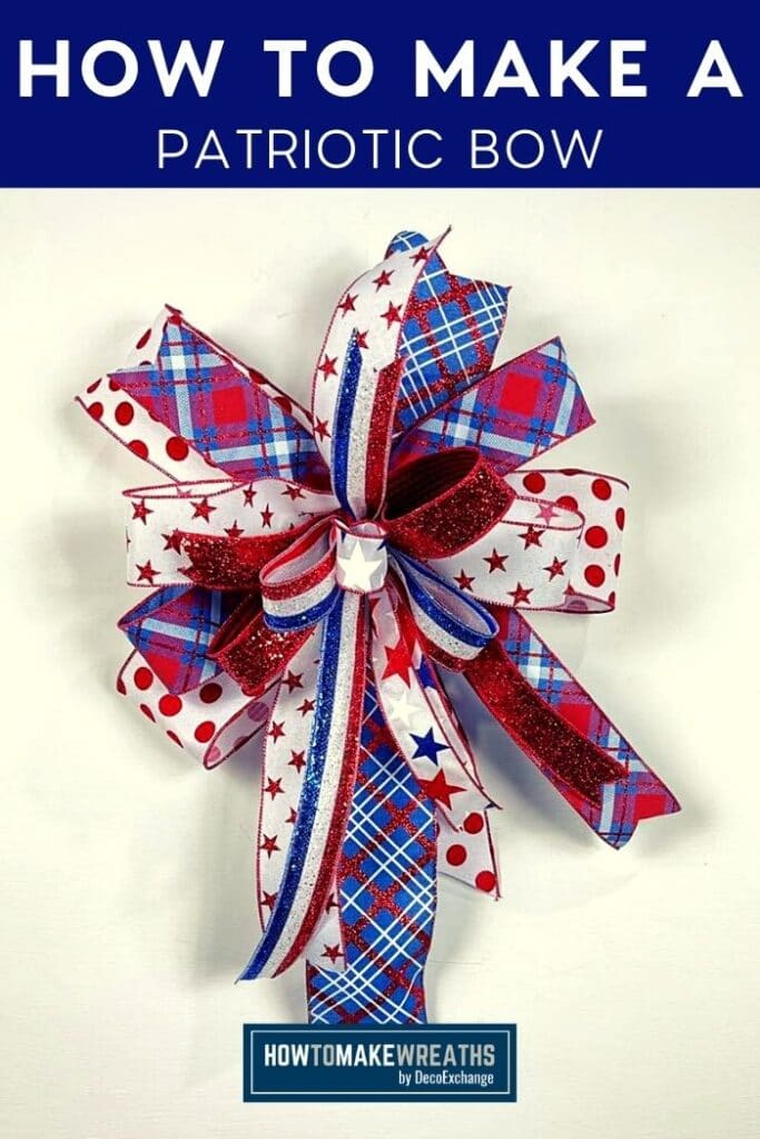 How to Make a Patriotic Bow
