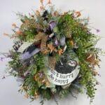 How to Make a Cheeky Sloth Wreath