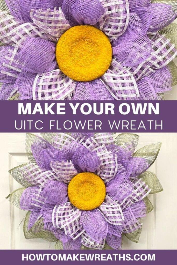 Make Your Own UITC Flower Wreath