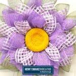 Make a Flower Wreath using a UITC Board