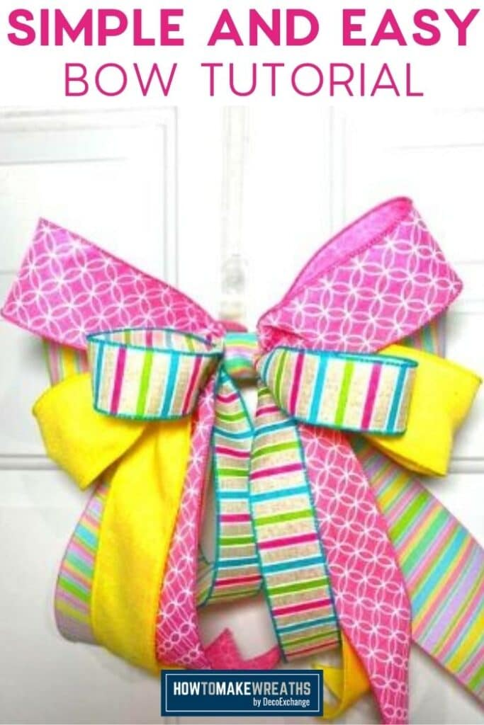 Simple and Easy Bow Tutorial