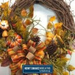 Simple Fall Grapevine Wreath