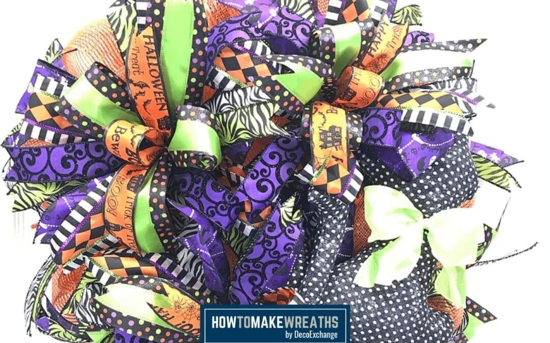 DIY Halloween Wreath Tutorial (+Video!)