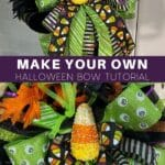 Make Your Own Halloween Bow Tutorial