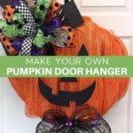 Make your own Pumpkin Door Hanger