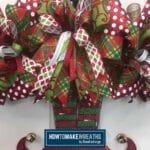 DIY Christmas Door Hanger