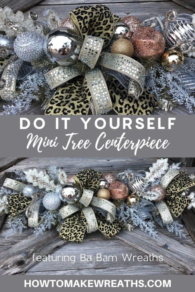 Do It Yourself Mini Tree Centerpiece