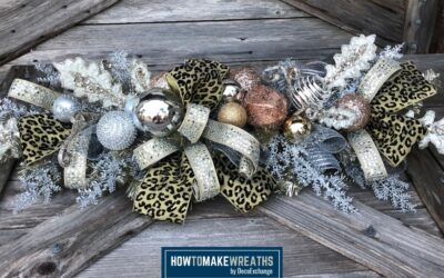 How To Make Holiday DIY Tree Centerpieces