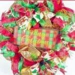 How to Make a Glittery Christmas Wreath