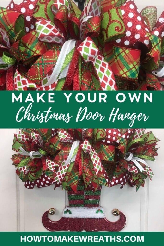 Make Your Own Christmas Door Hanger
